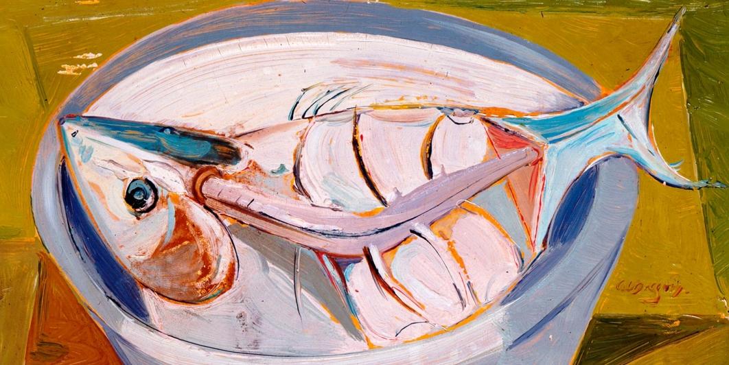 Bodegón con pez (Alejandro Obregón)