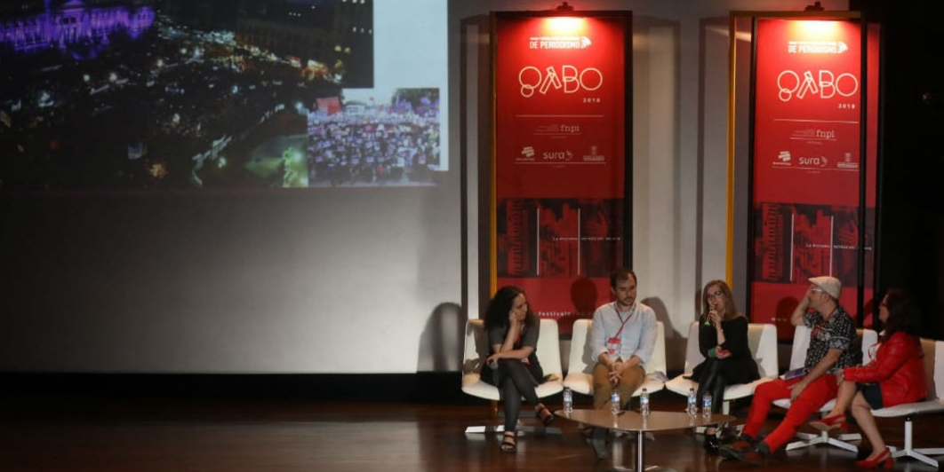 Redes sociales en Festival Gabo 2018