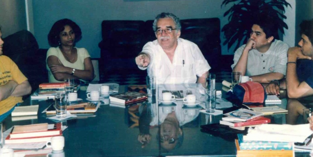 Gabo en la FNPI (1997) -Foto: Archivo FNPI