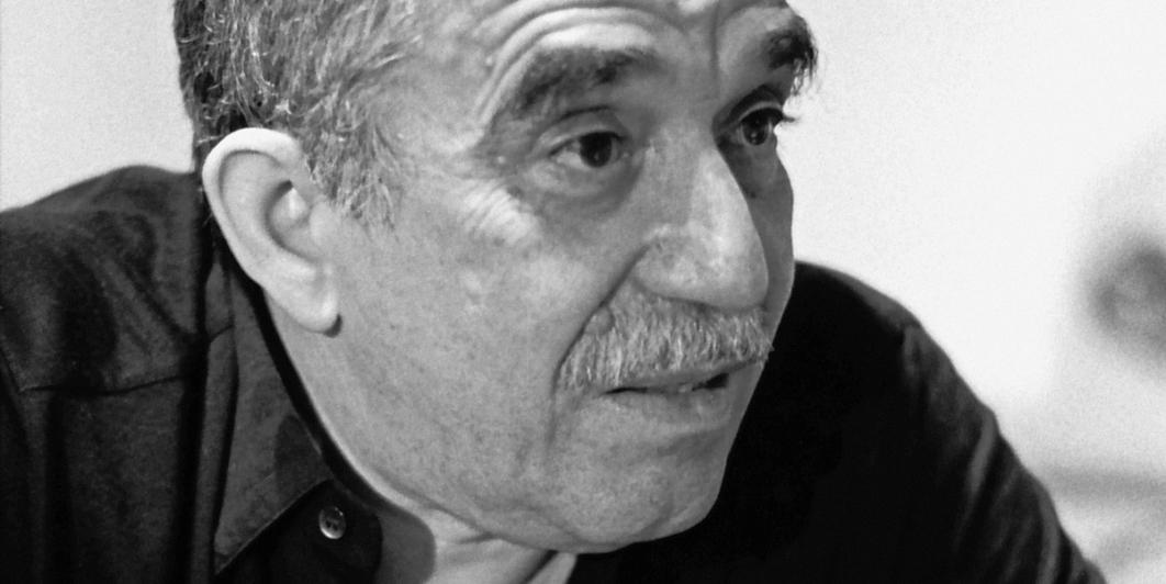 Gabriel García Márquez en Bogotá 1988. Foto: Hernán Díaz.