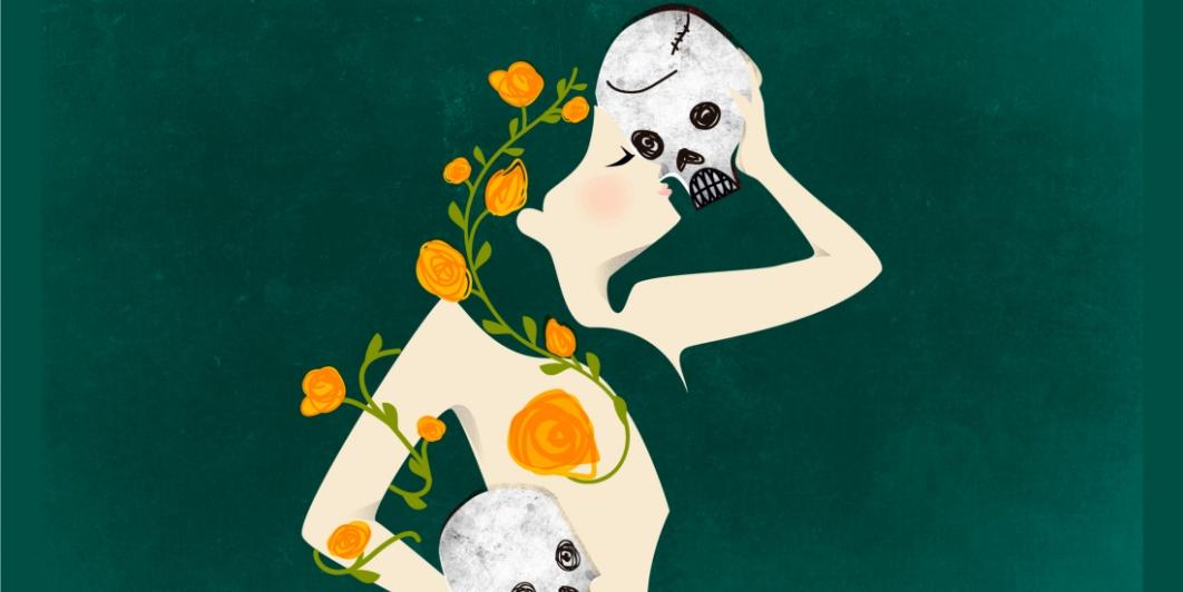 Erotismo y muerte (diseño de Paola Nirta)