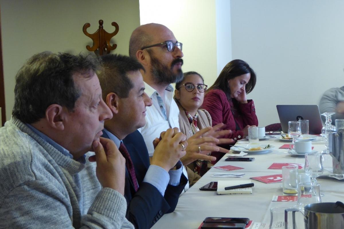 Encuentro de Convivencias en red, en Bogotá.
