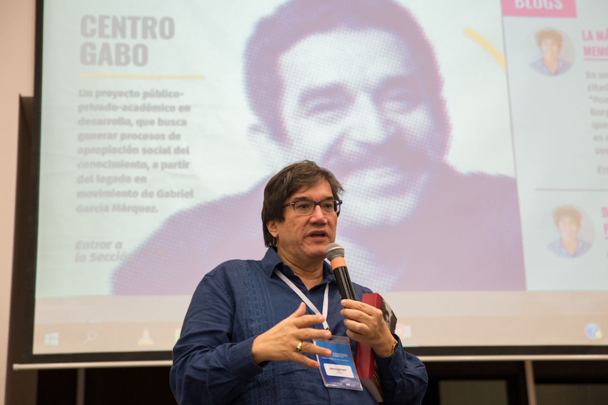 Asiste al lanzamiento del Centro Gabo
