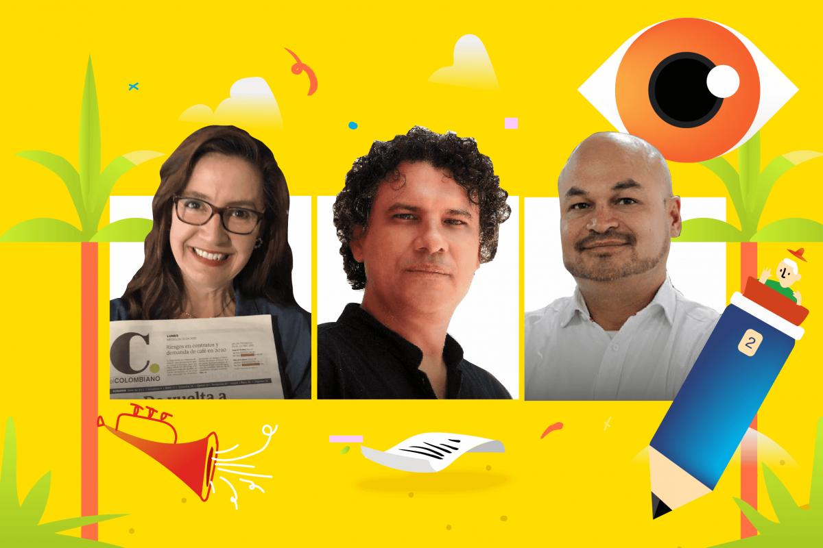Clara Tamayo, David Lara y Alejandro Guzmán serán los panelistas de esta charla web.