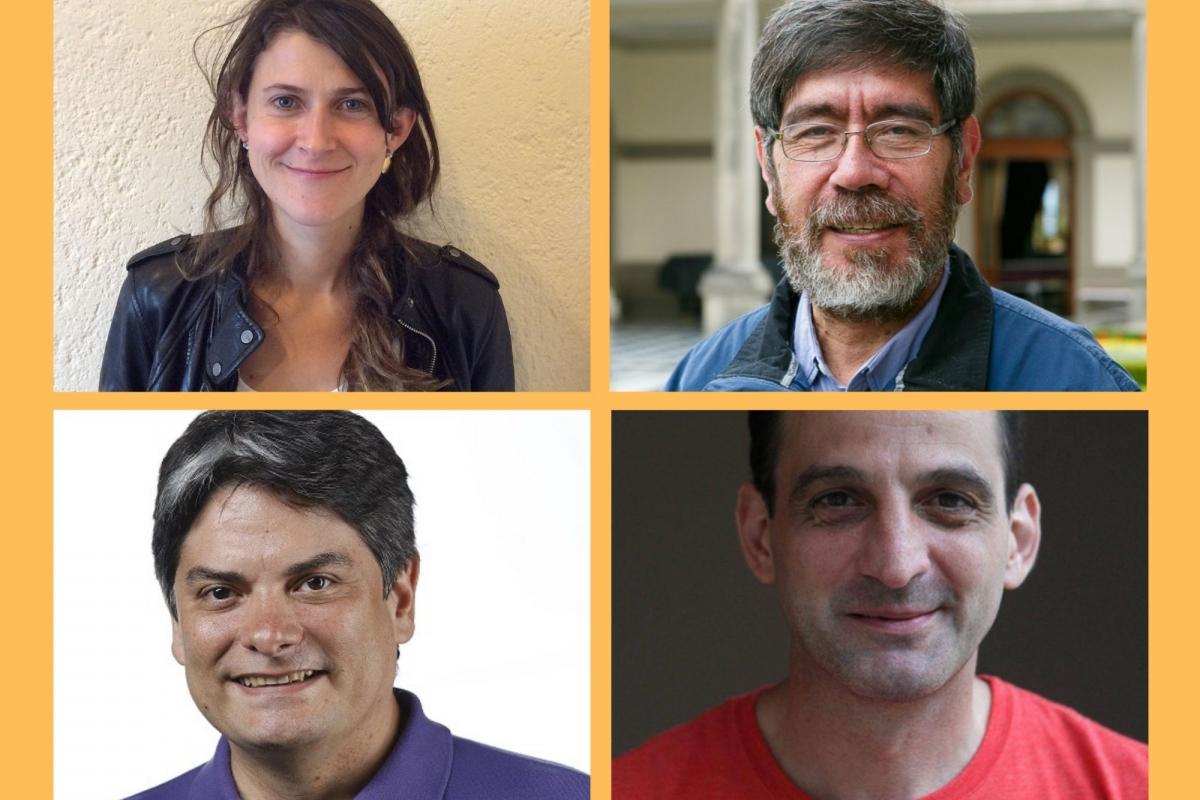 José Aparicio, Catalina Holguín y Germán Rey dialogarán bajo la moderación de Marcelo Franco.