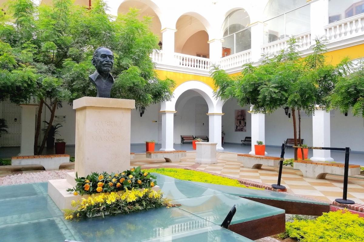 Inauguración del Espacio Cultural Gabriel García Márquez en Cartagena