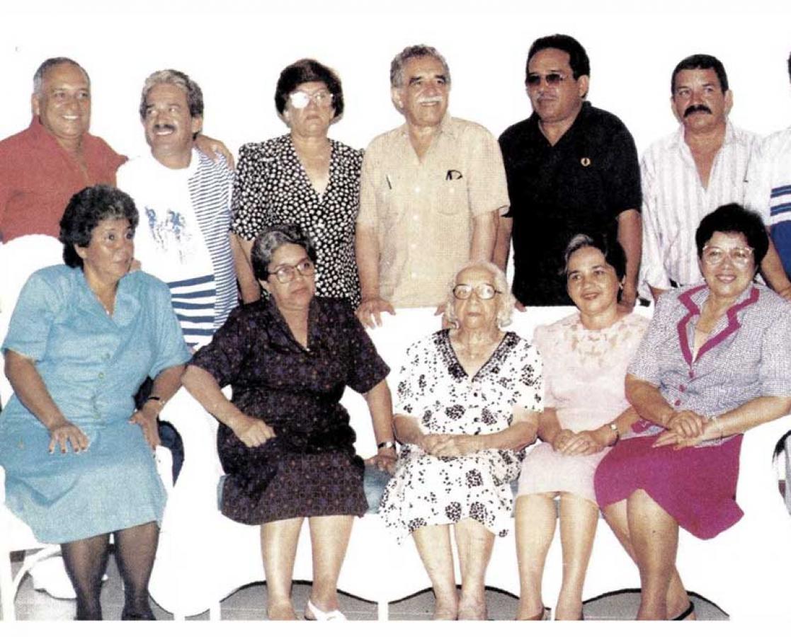 Los García Márquez, personajes de la vida real