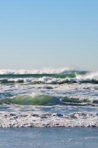 Gab conoce el mar.