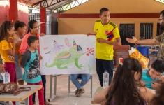 Participantes del proyecto Cronicando Aracataca.