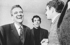 Germán Vargas, Álvaro Cepeda Samudio y García Márquez, Bogotá 1967