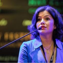 Sabrina Duque en el Hay Festival 2019