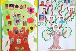 Árboles genealógicos ganadores en la actividad virtual de octubre de Centro Gabo y Ministerio TIC.