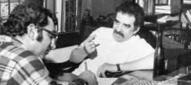 García Márquez y Juan Gossaín (1971)