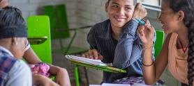 Niños y jóvenes que participaron en la segunda edición de Cronicando. Foto: Tenaris TuboCaribe