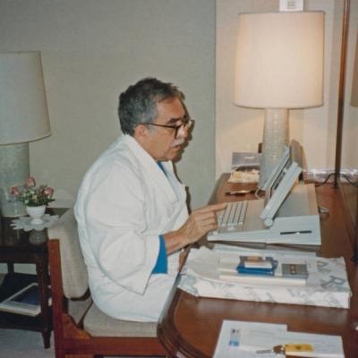 Foto archivo Gabriel García Márquez, Harry Ransom Center