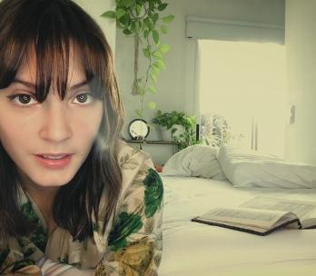 Carla Quevedo, actriz argentina que participa en el cortometraje