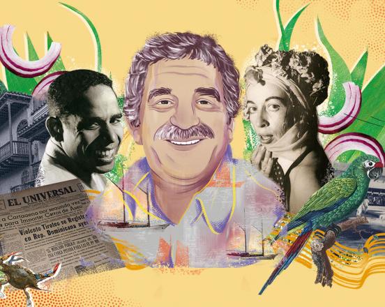 Diseño de ilustración: Andrea Cabeza y la mesa creativa de GUIDOULLOA, Elizabeth Barragán e Isabella Vélez