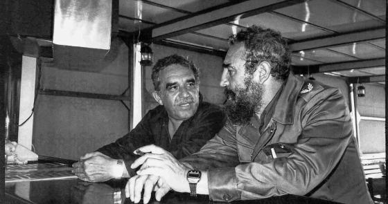 Gabo y Fidel en La Habana -Foto: Álbum familiar Mercedes Barcha