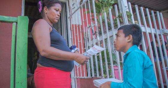 Así hacen periodismo los jóvenes de Nelson Mandela en Cartagena