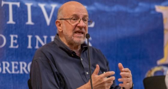 Daniel Samper Pizano en el Hay Festival 2019