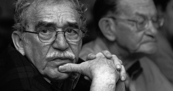 Gabo y José Salgar -Foto: Archivo FNPI, Andrés Reyes