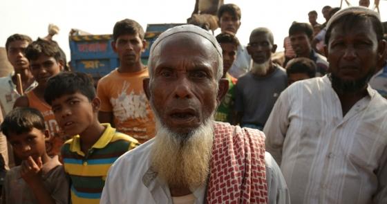 Musulmanes Rohinyá