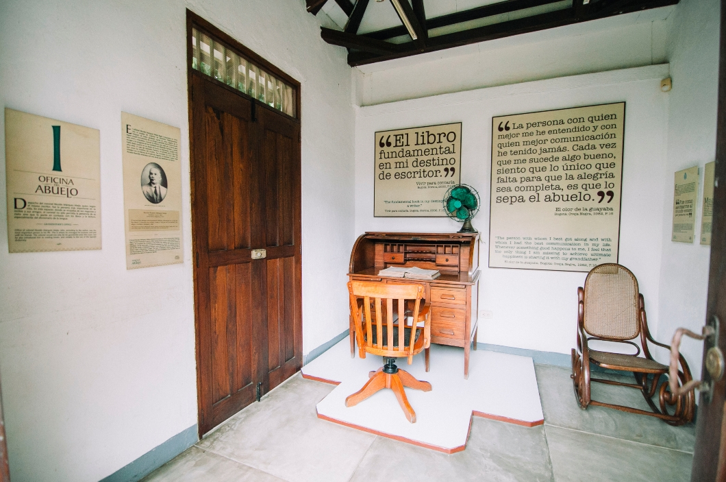 La oficina del abuelo