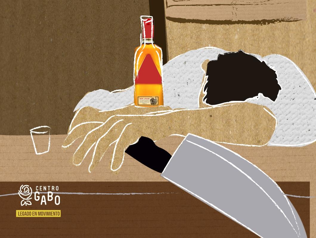 """""""No hay borracho que se coma su propia caca"""""""
