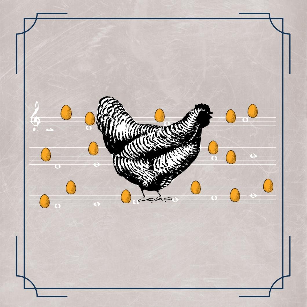 La gallina que pone un centenar de huevos de oro al son de la pandereta