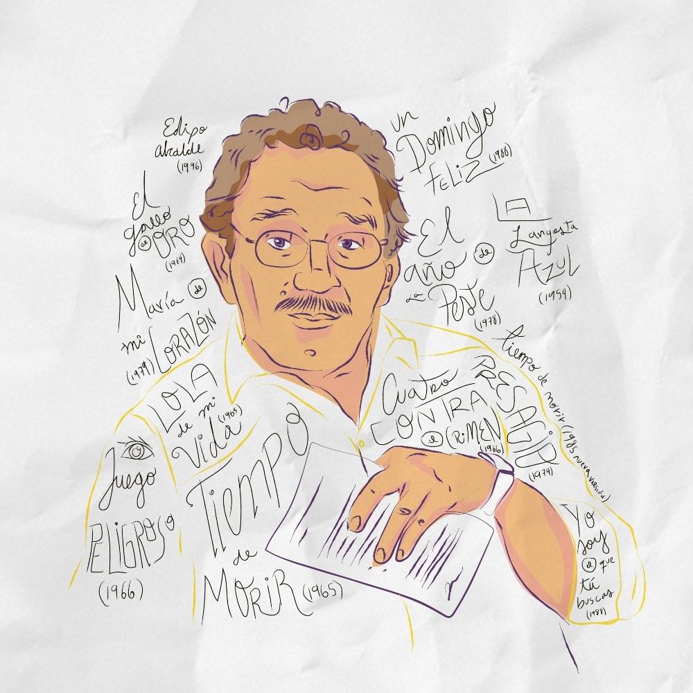 Gabriel García Márquez, amante del cine y la televisión